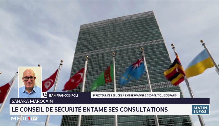 Sahara marocain: le conseil de sécurité entame ses consultations