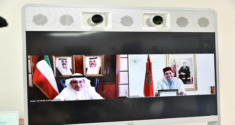 Entretien entre Nasser Bourita et son homologue koweïtien