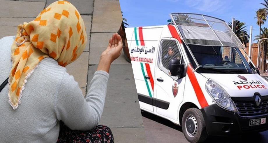 تستعمل دمية على أنها رضيع .. توقيف متسولة تدعي أنها لاجئة بالدار البيضاء
