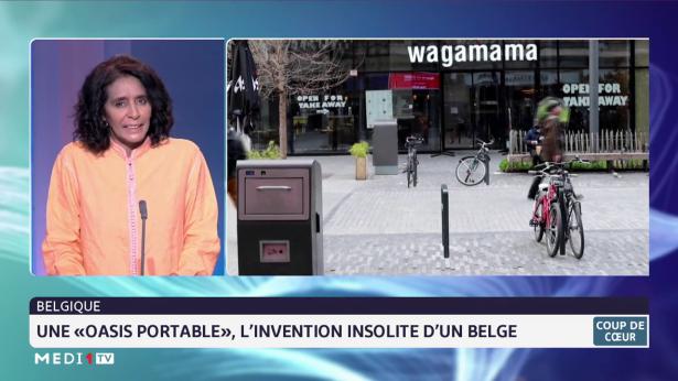 """Coup de coeur: une """"oasis portable"""", l'invention insolite d'un Belge"""