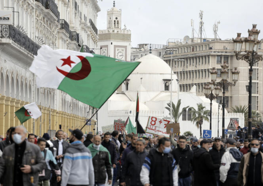 Genève: des Algériens interpellent le HCDH sur la répression et les arrestations arbitraires qui visent les militants du Hirak