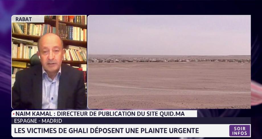 Une plainte urgente déposée contre Brahim Ghali: l'analyse de Naïm Kamal
