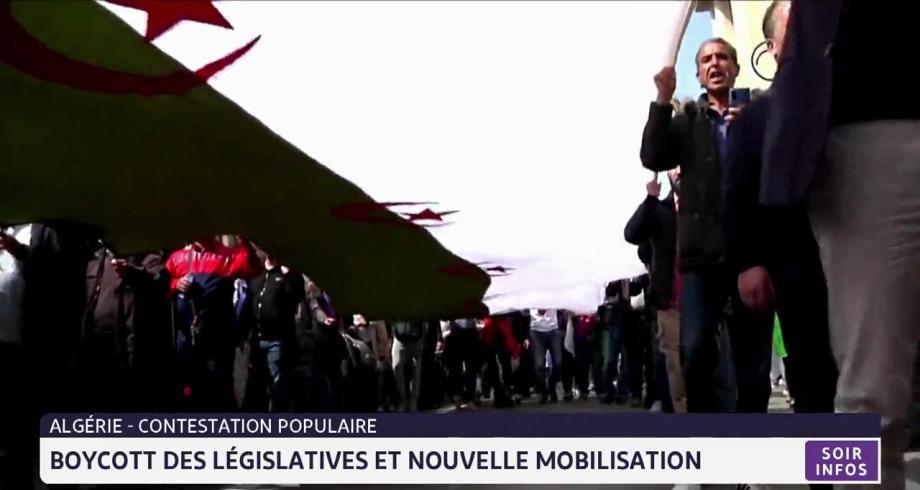 Algérie: boycott des législatives et nouvelle mobilisation