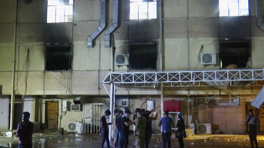 Bagdad: au moins 82 morts et 110 blessés dans l'incendie d'un hôpital dédié au Covid-19