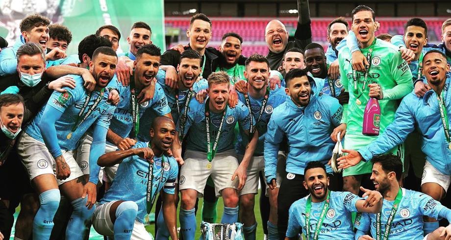 كأس الرابطة الانجليزية.. مانشستر سيتي يتوج باللقب بفوزه على توتنهام 1-0