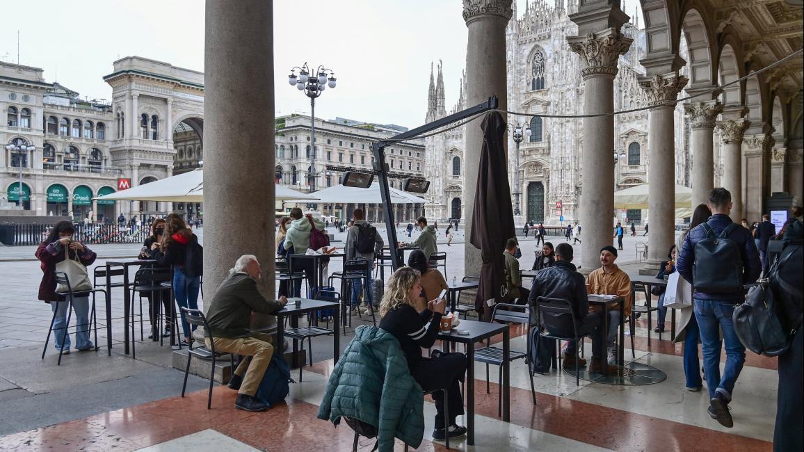 إيطاليا تبدأ برفع تدابير الإغلاق ودراغي يعرض خطته لإنعاش الاقتصاد