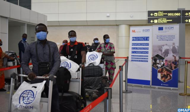 منذ بداية الجائحة...المنظمة الدولية للهجرة يسرت عودة 1100 مهاجر إفريقي كانوا عالقين بالجزائر