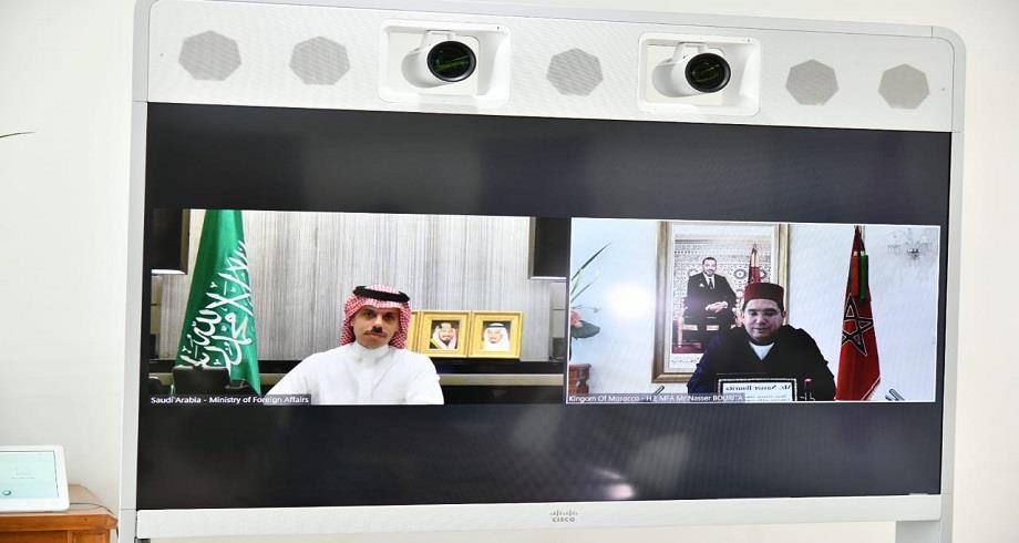 Nasser Bourita s'entretient avec son homologue saoudien