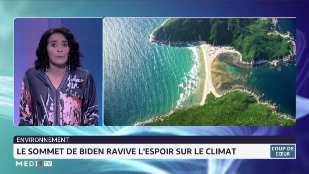 Coup de cœur: le sommet de Biden ravive l'espoir sur le climat