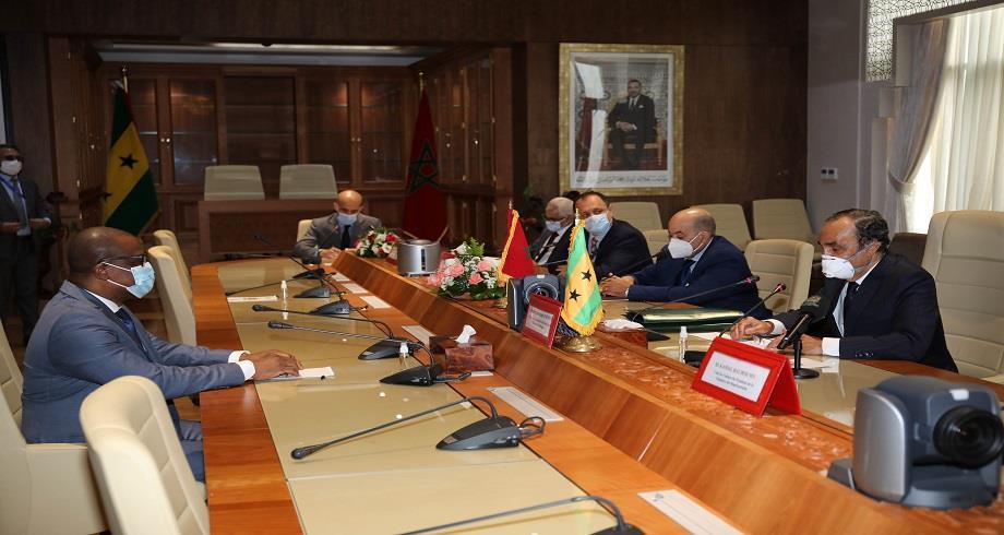 Sao Tomé-et-Principe déterminé à renforcer les liens de coopération avec le Maroc