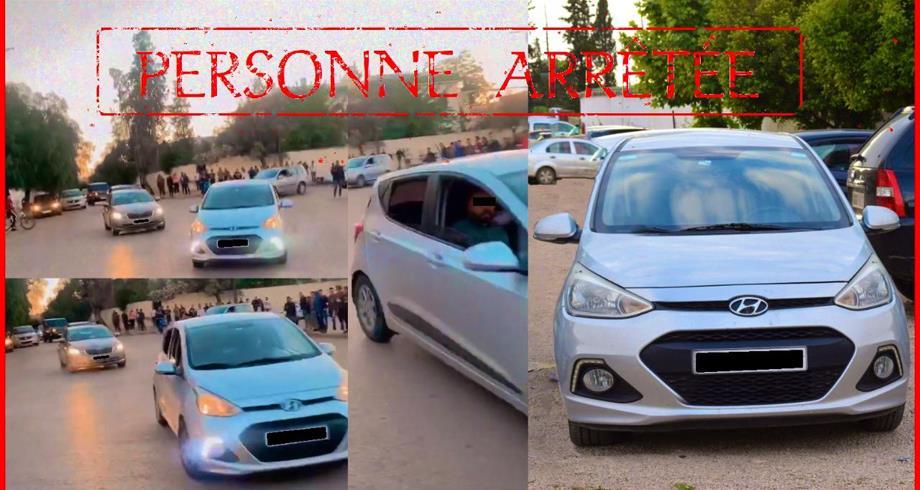 توقيف سائق سيارة ظهر في فيديو وهو يقوم بمناورات استعراضية خطيرة بمكناس