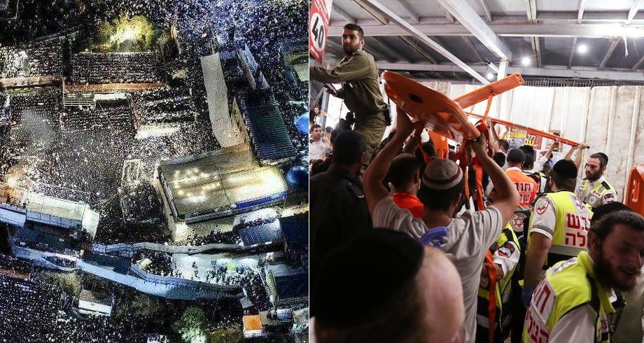 مقتل ما لا يقل عن 44 شخصا في حادث تدافع أثناء حفل ديني في إسرائيل