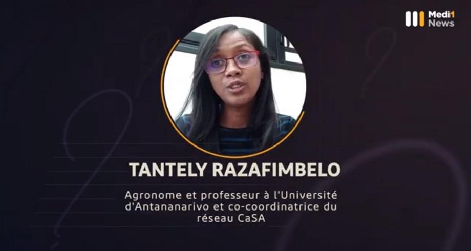 #Questions à Tantely Razafimbelo, agronome et professeur à l'Université d'Antananarivo et co-coordinatrice du réseau CaSA