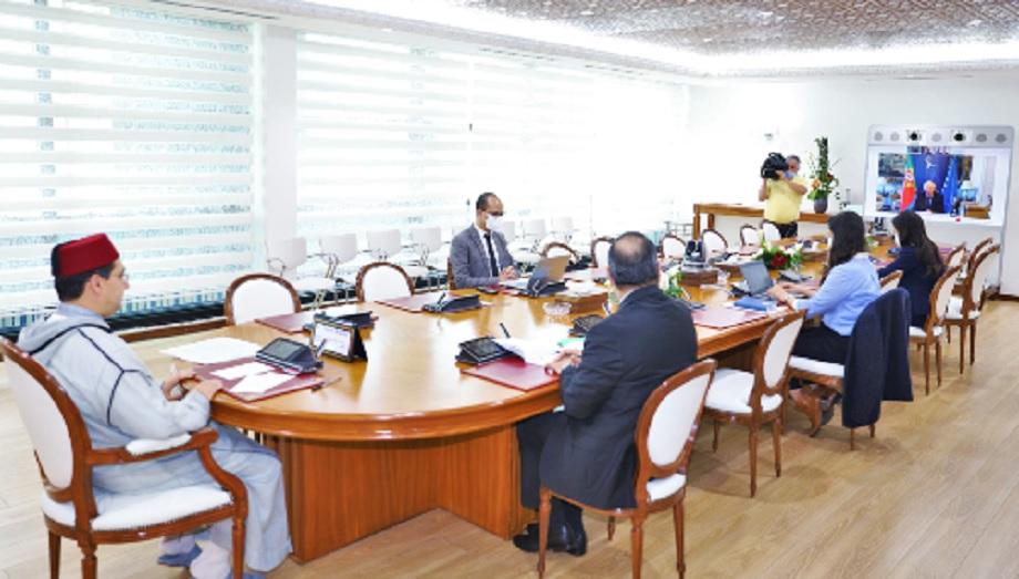 Bourita s'entretient avec son homologue portugais