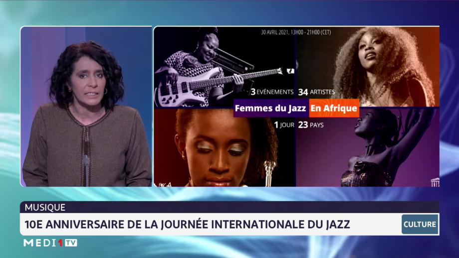 Musique: 10e anniversaire de la journée internationale du jazz