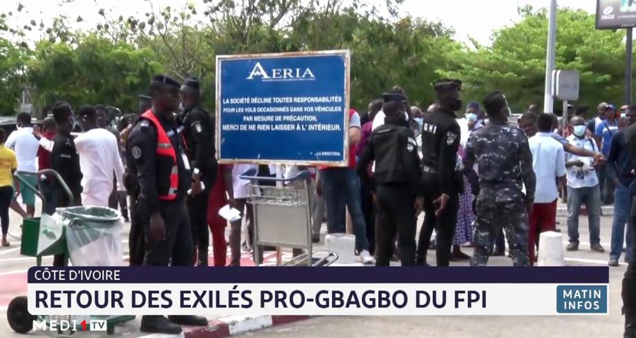 Côte d'Ivoire: retour des exilés pro-Gbabgbo du FPI