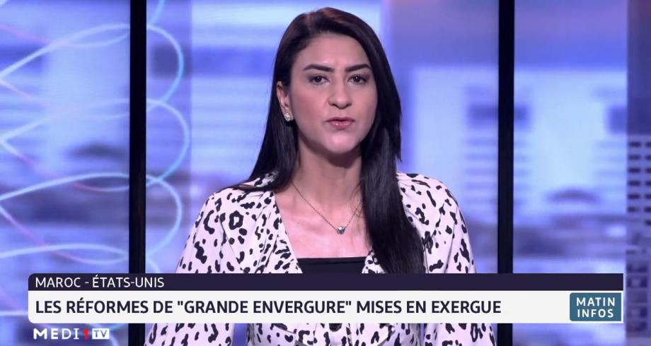 Les réformes entreprises par le Roi Mohammed VI mises en exergue lors d'un entretien entre Blinken et  Bourita