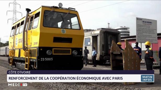 Côte d'Ivoire: renforcement de la coopération économique avec Paris
