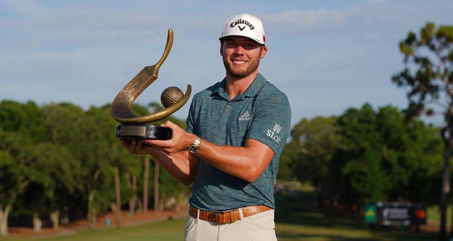 Golf: Sam Burns remporte le Valspar Championship