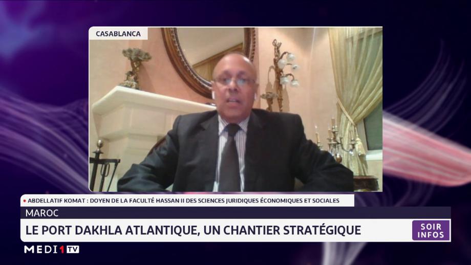 Focus sur le chantier stratégique du port Dakhla Atlantique avec Abdellatif Komat