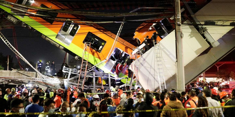 Mexico : 13 morts et 70 blessés dans un accident de métro