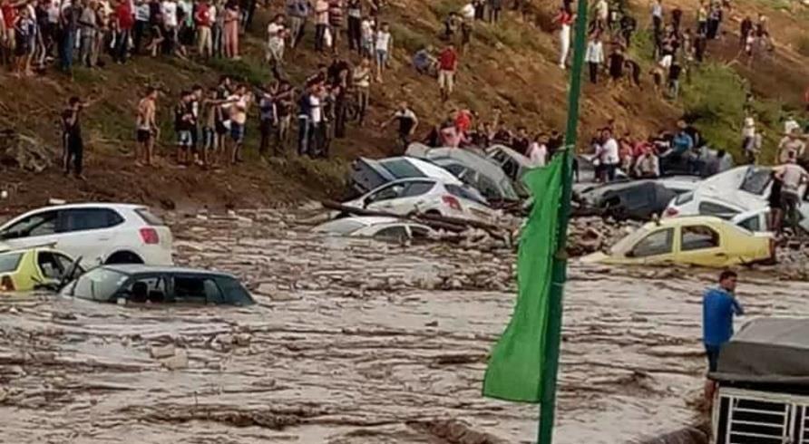 Trois morts dans des inondations en Algérie