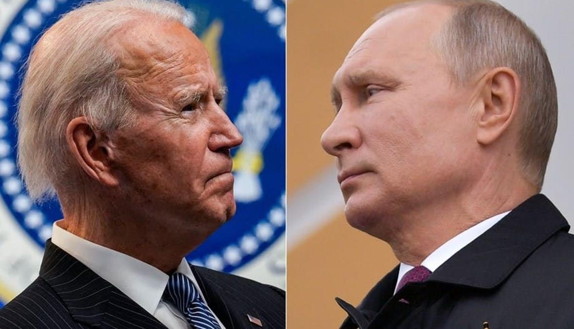"""بايدن """"يأمل"""" في لقاء بوتين في يونيو المقبل"""