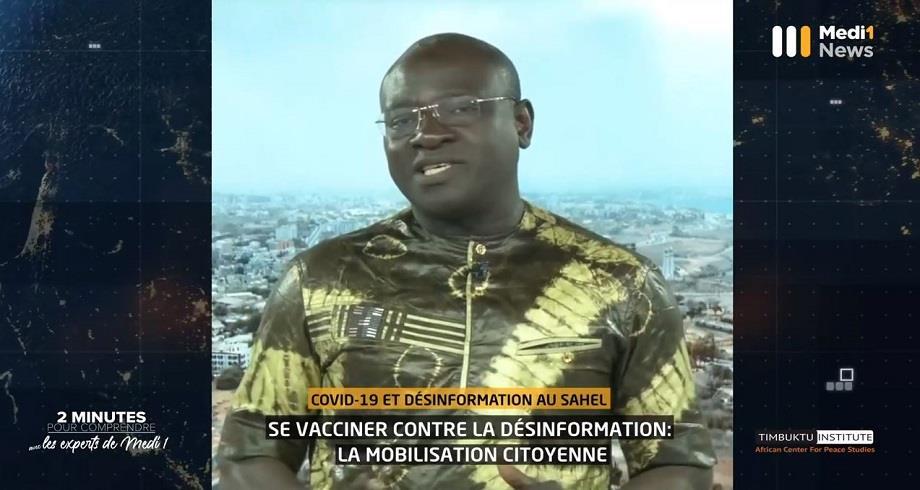 Se vacciner contre la désinformation au Sahel: la mobilisation citoyenne avec Bakary Sambe du Timbuktu Institute