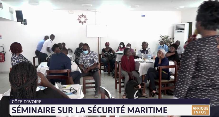 Séminaire sur la sécurité maritime en Côte d'Ivoire