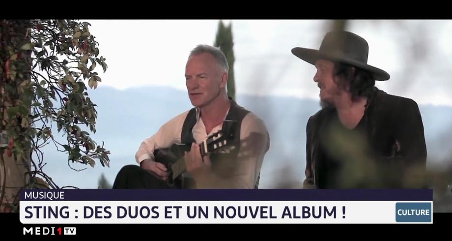 Chronique culturelle: Sting, des duos et un nouvel album