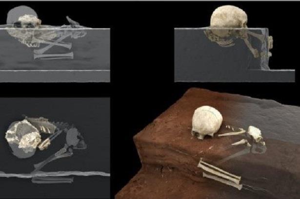 اكتشاف أقدم قبر في إفريقيا
