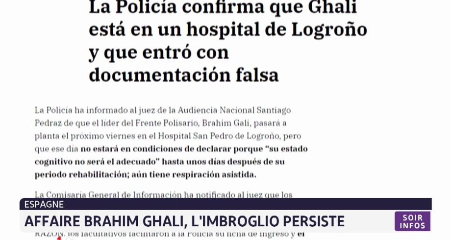 Affaire Brahim Ghali: l'imbroglio persiste