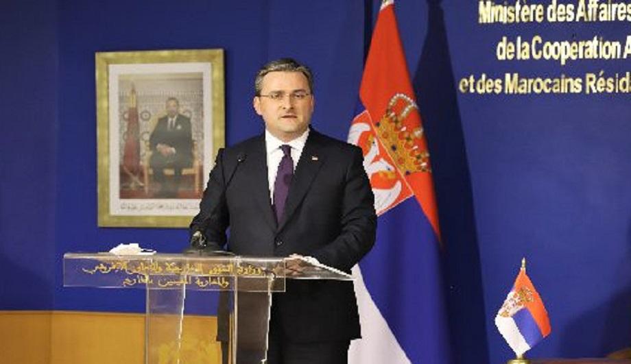صربيا تعتبر المبادرة المغربية للحكم الذاتي حلا جادا وذو مصداقية