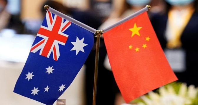 La Chine suspend un accord économique avec l'Australie