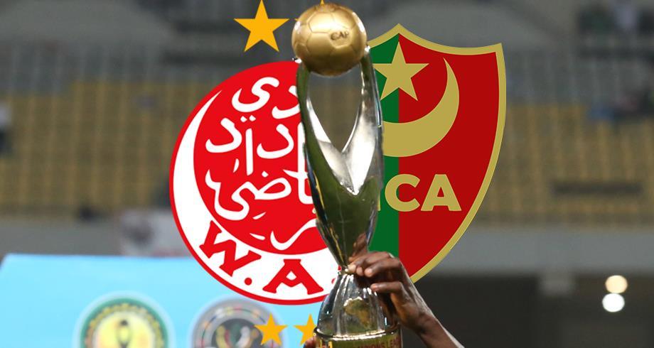 """ربع نهائي أبطال إفريقيا .. """"الكاف"""" يحدد موعد مباراتي الوداد ومولودية الجزائر"""