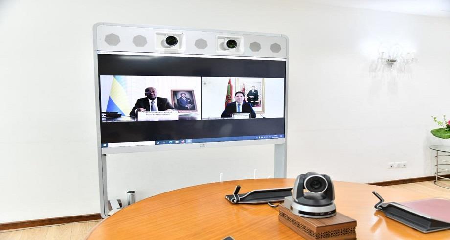 Nasser Bourita s'entretient avec son homologue gabonais