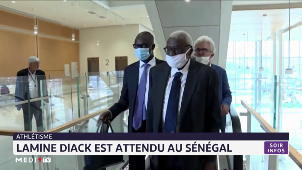 Athlétisme: Lamine Diack est attendu au Sénégal