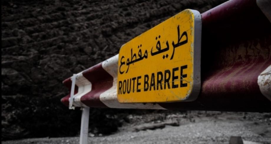Sefrou: coupure temporaire de la circulation sur le tronçon reliant Aderj à Ighazran