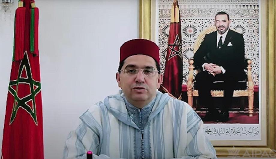 Bourita: la reprise des relations entre le Maroc et Israël, un élément pour renforcer la dynamique de paix au Proche-Orient
