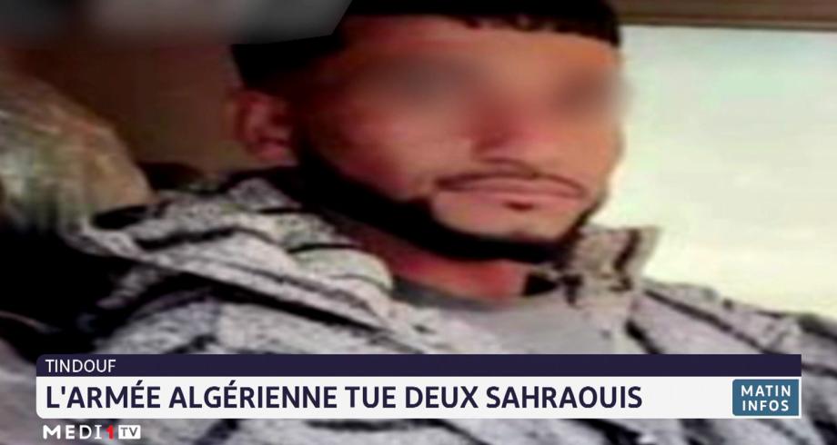 Tindouf: l'armée algérienne tue deux Sahraouis