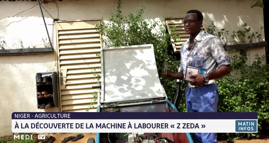 Niger: à la découverte de la machine à labourer «Z Zeda»