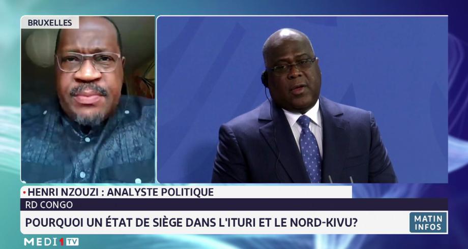 RD Congo: pourquoi un état de siège dans l'Ituri et le Nord-Kivu ? Analyse de Henri Nzouzi