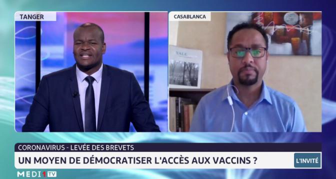 Coronavirus et démocratisation de l'accès aux vaccins avec Abdallah Badou