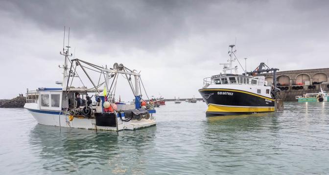 خلاف بريطاني فرنسي على حقوق الصيد البحري
