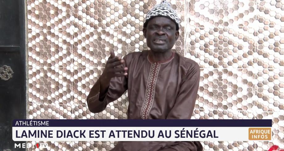 Lamine Diack est attendu au Sénégal