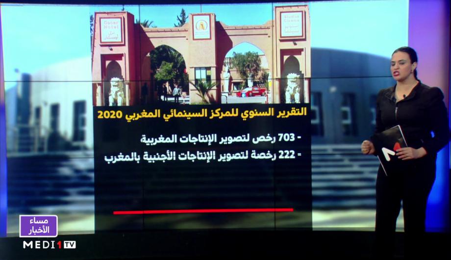شاشة تفاعلية.. الحصيلة السينمائية السنوية للمركز السينمائي المغربي