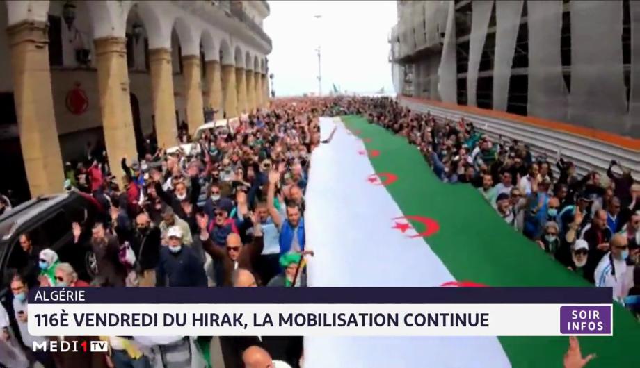 Algérie: la mobilisation continue
