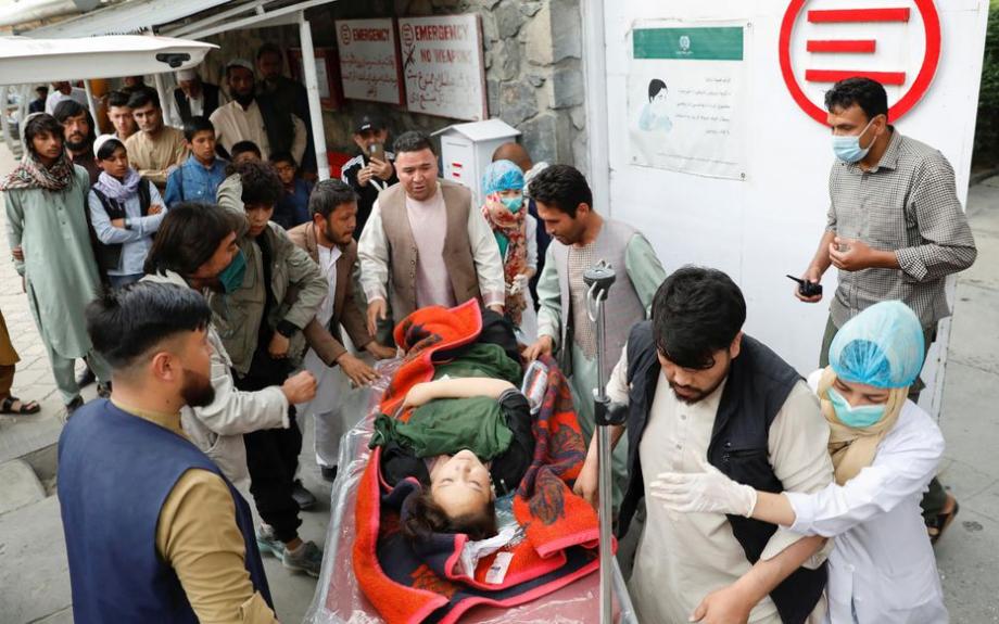 Afghanistan: une explosion devant une école à Kaboul fait au moins 25 morts