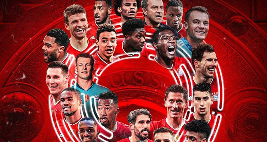 Bundesliga: le Bayern remporte son 9è titre d'affilée