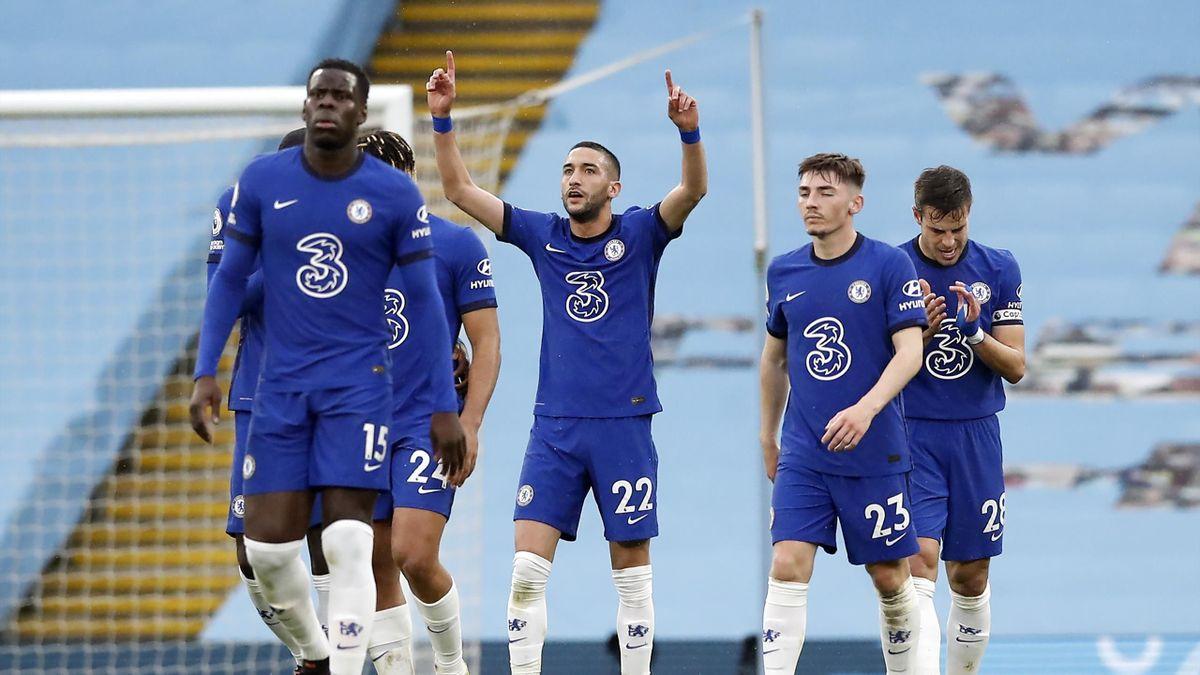 Premier League: Chelsea retarde le sacre de Manchester City, Ziyech buteur